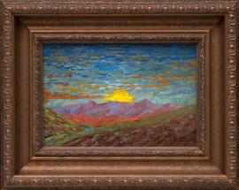 Sunset Above Santa Fe